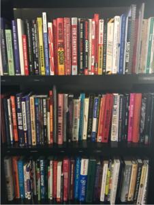 Michael Tasner Book Shelf